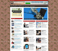 INTERNET BUSINESS TIPS WEBSITE & STORE + NEW DOMAIN - VIDEO PAGES - PRO DESIGN