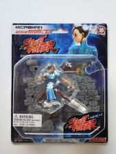 MICROMAN STREET FIGHTER - CHUN-LI Figure - Mint with package!