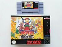Ganpuru: Gunman's Proof Case / Game SNES Super Nintendo English (USA Seller)