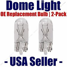 Dome Light Bulb 2-Pack OE Replacement - Fits Listed Pontiac Vehicles - 194