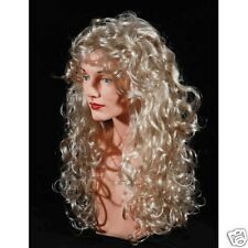 Long Soft Curl Wig Ash Blonde Wig Party Dress up Halloween Costume Party