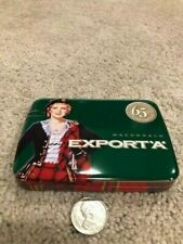 Green 25's Macdonald Export 'A' 65 Yr Anniversary Cigarette Tin NEVER USED