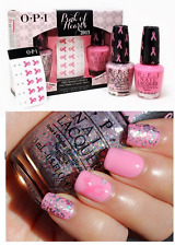 OPI Pink of Hearts '13 PINK-ING OF YOU & MORE THAN A GLIMMER Nail Polish Lacquer