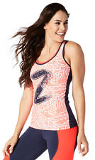 Zumba beach baller racerback top XL