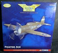 "CORGI AVIATION ARCHIVE P-47D-5 THUNDERBOLT CAPTAIN WALKER ""BUD"" MAHURIN 1:72"