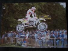 Photo Yamaha YZM500 #5 Leif Persson (SWE) GP 500cc Motocross Heerlen (NED) '87 3