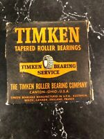 Timken 2788 Tapered Roller Bearing, Single Cone (NEW IN BOX)