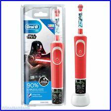 Nuevo Oral-B Vitalidad cepillo de dientes electrico recargable Niños Star Wars Rojo