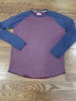 Marine Layer Baseball T-Shirt Double Knit Raglan NEW WITH TAGS NWT XL