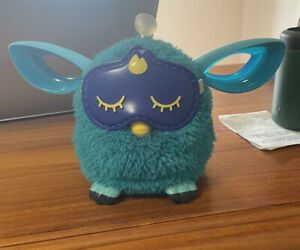 Hasbro FURBY Connect Sleeping Mask Blue Interactive Bluetooth Tested and Working
