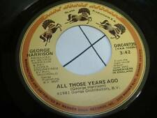 Beatles 45 GEORGE HARRISON All Those Years Ago on Dark Horse