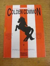 16/12/1995 Colden Common v Pirelli General  (no apparent/major faults)