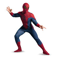 Adult Marvel Comics Movie The Amazing Spider-man Deluxe Superhero Hero Costume