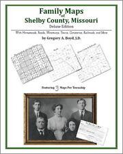 Family Maps Shelby County Missouri Genealogy MO Plat