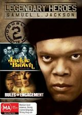 Samuel L Jackson Jackie Brown / Rules of Engagement 2-Disc Set  Region 4 DVD VGC