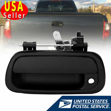 Rear Tail Gate Tailgate Handle for 2000-2006 Toyota Tundra Pickup Texture Black