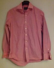 Men's  cotton pink shirt The Savile Row 16 41 cm
