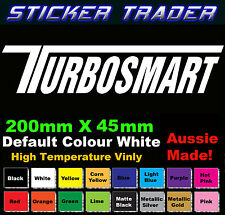 Turbosmart Sticker 200mm X 45mm High Temp Vinyl Racing Car JDM Bomb Drift
