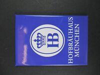 München Hofbräuhaus Wappen ,8 cm Foto Magnet Souvenir Germany,NEU