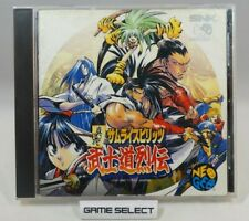 SHINSETSU SAMURAI SPIRITS BUSHIDO RETSUDEN RPG BUSHIDOU SHODOWN NEO GEO CD JAP