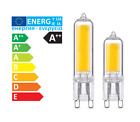 G9 LED Filament Clear Light Bulbs 3W = 40W 240V Dimmable Warm Cool White Halogen