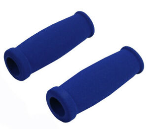NEW SOFT FOAM BLUE RAZOR SCOOTER GRIPS HANDLEBAR REPLACEMENT GRIP