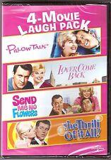 4-Movie Doris Day Laugh Pack DVD Rock Hudson James Garner BRAND NEW