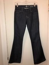 Ladies Seven For All Mankind A Pocket Boot cut Jeans Size 24 X 29