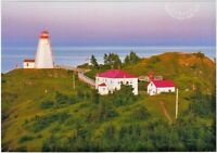 2020 = SWALLOWTAIL  LIGHTHOUSE = FROM FAR AND WIDE = POSTCARD = Canada