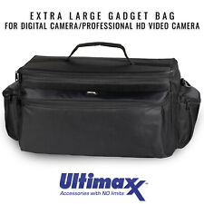 Extra Large Soft Padded Camcorder Equipment Bag Case by ULTIMAXX - Brand New