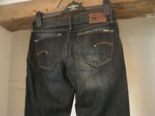 """G Star Raw 3301 Men`s UK Size W 26""""  L 30"""" used but great condition wider hems"""