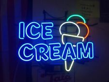 "New Ice Cream Shop Open Beer Bar Neon Light Sign 24""x20"""
