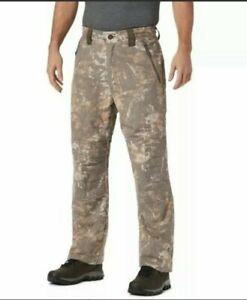 Columbia PHG Gallatin Lite Wool Blend Pants Timberwolf Digital Camo XL Regular