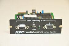 APC Smart Slot AP9607 UPS Interface Expander  Serial Dual Port 640-0806-A