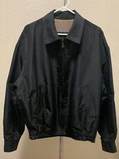 Ermenegildo Zegna Black Nylon Men's Jacket Size 52
