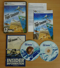 Microsoft Flight Simulator X PC Game Complete With Manual FREE POST