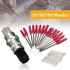 15x 45° Schneideplotter Plottermesser mit CB09 Messerhalter für Roland Plotter