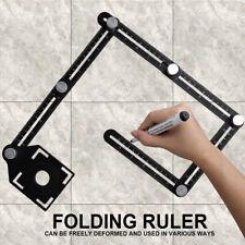 New Craftsmen Carpenters Handymens 6 Folding Multi Angle Measuring Ruler Ceramic
