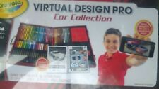 CRAYOLA VIRTUAL DESIGN PRO CAR COLLECTION COMPATIBLE W/ IOS ANDROID & IPOD TOUCH