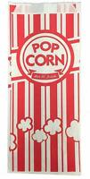 Carnival King Paper Popcorn Bags [100 PCS] 1 oz Red / White for Party & Snacking