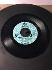 James & Bobby Purify Shake A Tail Feather & Goodness Gracious 45 Record
