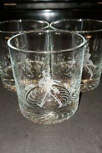 JOHNNIE WALKER  Vintage Set of 3 Drinking Glasses