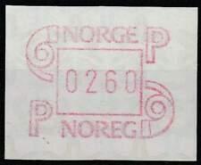 Noorwegen postfris automaatzegels 1986 MNH A3 (05)
