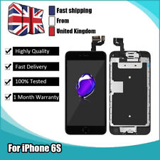 For iPhone 6s Touch Screen Retina Replacement Digitizer LCD Camera Button Black