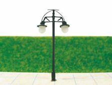 S201 - 10 pcs Streetlights Nostalgic 2 Flame 6,3cm