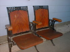 Opera Theater seats 1898 S. U Eastlake Cast Iron Top Hat Wire Holder Underneath