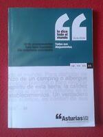 LIBRO GUÍA TURISMO OFICIAL VIAJES O SIMIL ASTURIAS TODOS SUS ALOJAMIENTOS 2010