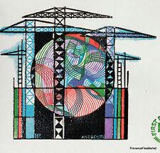 Yt 1934 A LA CONSTRUCTION   FRANCE  FDC  ENVELOPPE PREMIER JOUR