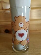 1983 Care Bear Tenderheart Glass Pizza Hut Collectables