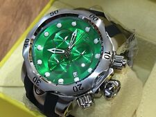 New Mens Invicta 6105 Venom Reserve Swiss Made Chronograph GREEN Dial Watch